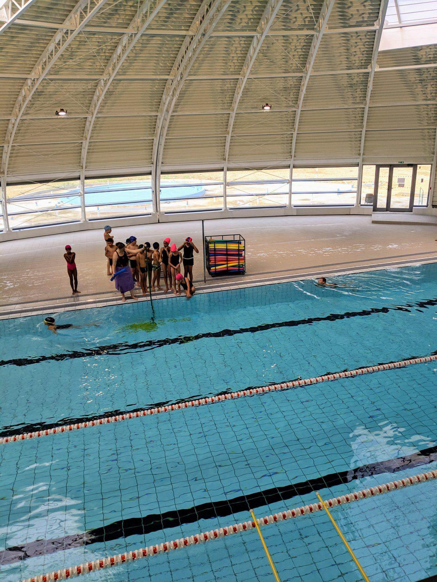 La piscine s'ouvre aux scolaires