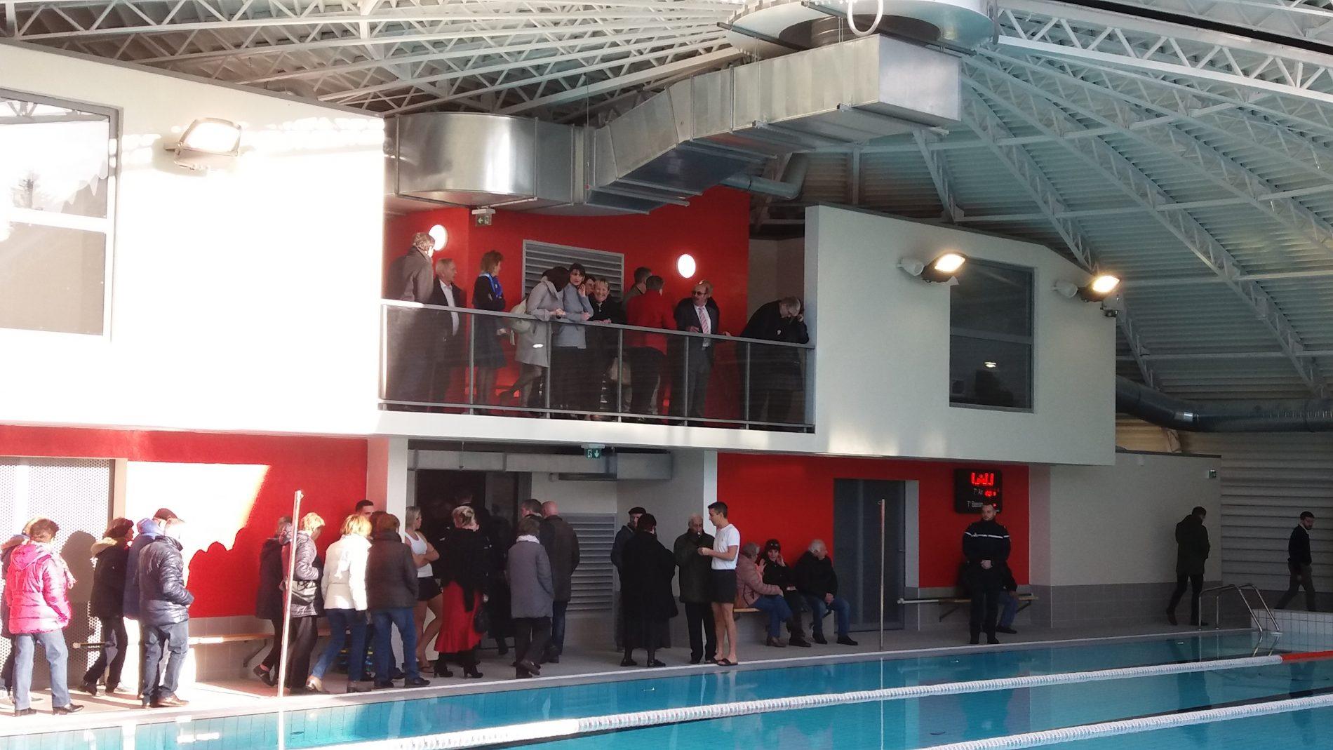Inauguration de la piscine intercommunale